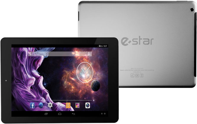 CRYSTAL CLEARVIEW Quad Core 9.7""
